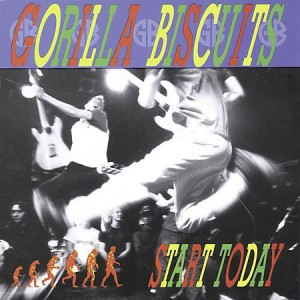 "Gorilla Biscuits ""Start Today"" released 1994"