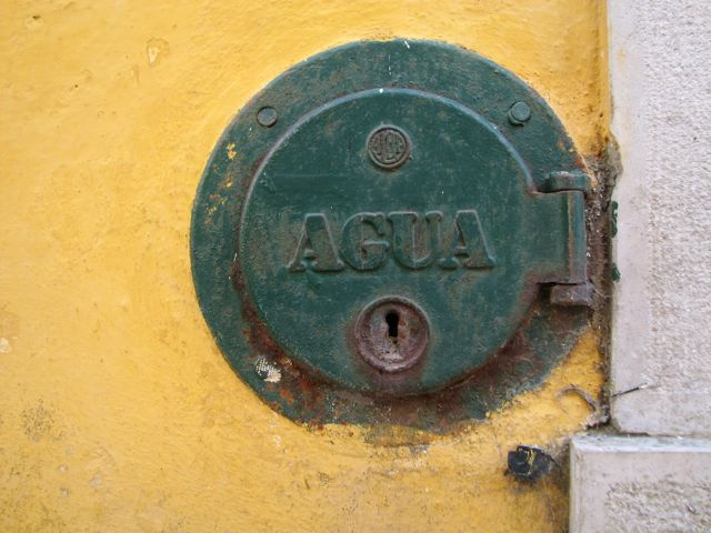 The Agua was locked up everywhere we went.  I assume these were public waterworks, like fire hydrants or something.  Regardless, I thought they were cool looking.  Actually the drinking water was good straight from the tap.