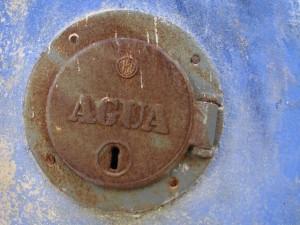 No aqua for you, it's locked.