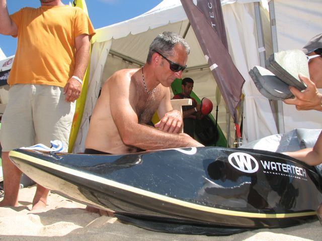 Rui Caldon of the Portuguese team and Watertech Kayaks.