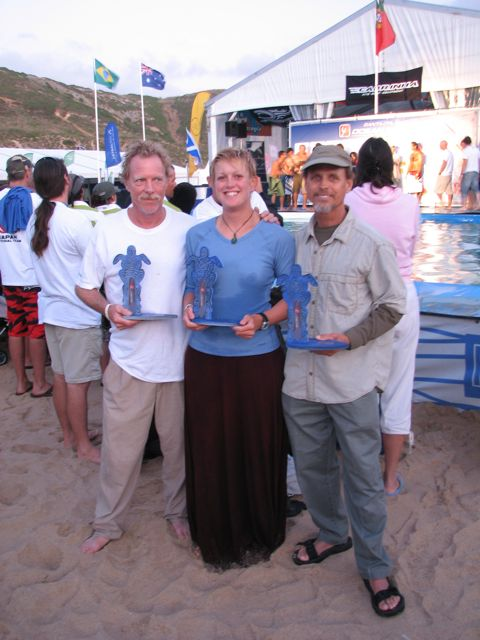 US East 2009 World Medalists: Russ Buskirk, Lindsay Usher & Tom May